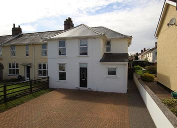 Thumbnail 4 bed end terrace house for sale in Trenewydd, Llanfaes, Brecon