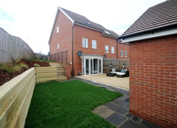 Thumbnail 4 bedroom terraced house for sale in Seldon Crescent, Exeter