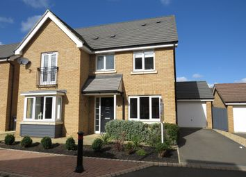 Thumbnail 5 bedroom detached house for sale in Lares Avenue, Peterborough