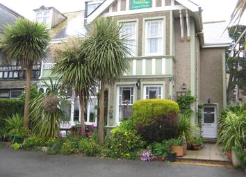 Thumbnail Hotel/guest house for sale in Edgcumbe Gardens, Newquay