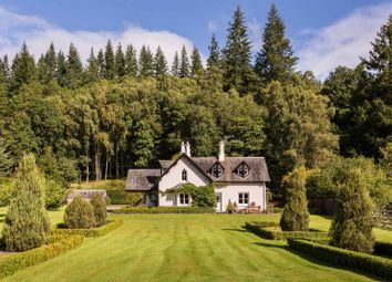 Thumbnail 3 bed cottage for sale in Dunira, Comrie, Perthshire