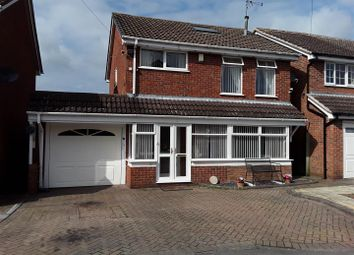 Thumbnail 3 bed property for sale in Caughley Close, Broseley