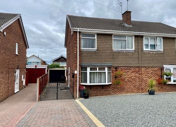 Thumbnail 3 bed semi-detached house for sale in Broomfield Rise, Stockingford, Nuneaton