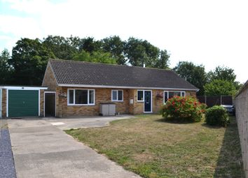 Thumbnail 3 bed detached bungalow for sale in Priory Crescent, Fressingfield, Eye