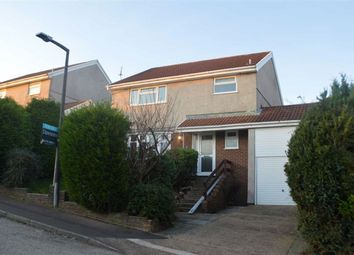 Thumbnail 4 bed detached house for sale in Llwyn Mawr Close, Tycoch, Swansea