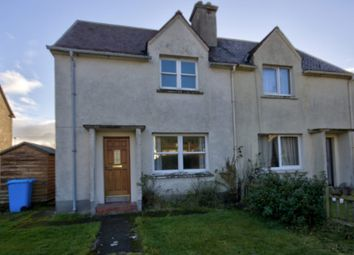 Thumbnail 2 bed semi-detached house for sale in 9 Grant Crescent, Golspie