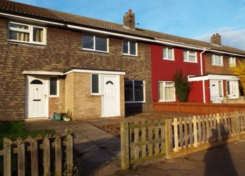 Thumbnail 3 bed terraced house to rent in Saunders Close, Huntingdon