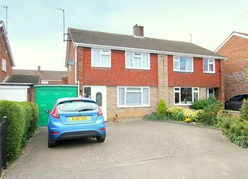 Thumbnail 3 bed semi-detached house for sale in Longsands Road, St. Neots