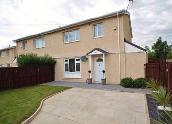 Thumbnail 3 bedroom semi-detached house for sale in 84 Barrington Crescent, Middlesbrough, Cleveland