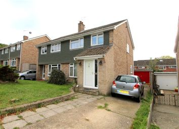 Thumbnail 3 bed semi-detached house for sale in Anson Close, Ringwood