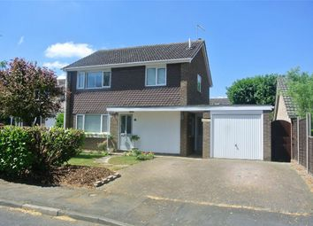 Thumbnail 3 bed detached house for sale in Cappitt Drive, Thurlby, Bourne, Lincolnshire