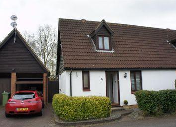 Thumbnail 1 bedroom semi-detached house to rent in Caesars Close, Bancroft, Milton Keynes