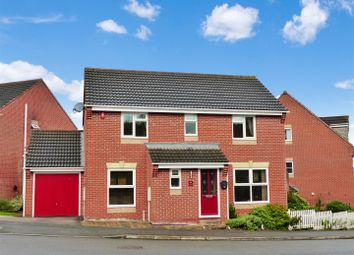 Thumbnail 4 bed detached house for sale in Woodward Way, Swadlincote