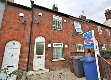 Thumbnail 2 bed town house to rent in Cullum Road, Bury St. Edmunds