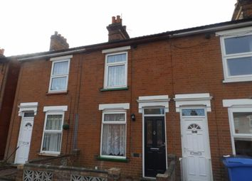 Thumbnail 2 bed terraced house for sale in Clifford Road, Ipswich, Suffolk