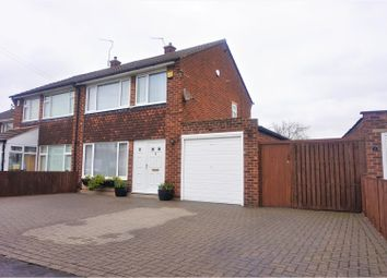 Thumbnail 3 bed semi-detached house for sale in Dirleton Drive, Warmsworth, Doncaster