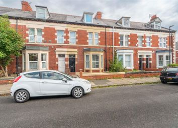 Thumbnail 6 bed terraced house for sale in Granville Gardens, Jesmond, Newcastle Upon Tyne