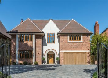 Thumbnail 5 bed detached house for sale in Temple Road, Dorridge, Solihull, West Midlands