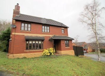Thumbnail Detached house for sale in Primrose Close, Brackla, Bridgend County.