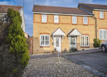 Thumbnail 2 bed end terrace house for sale in Badgers Close, Hertford