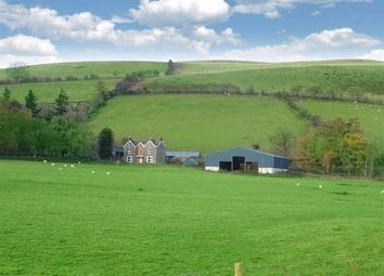 Thumbnail 5 bed farm for sale in Garthbwt, Clatter, Caersws, Powys