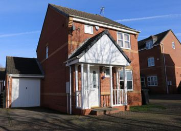 Thumbnail 3 bed detached house for sale in Woodlands Court, Oadby, Leicester