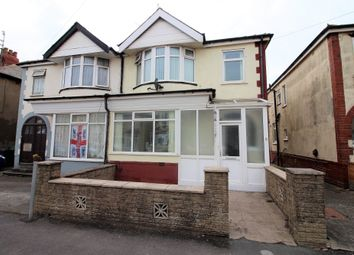 Thumbnail 3 bed semi-detached house to rent in Derby Road, Thornton-Cleveleys, Lancashire