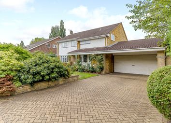 Thumbnail 4 bed detached house for sale in Sandroyd Way, Cobham
