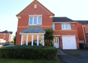 Thumbnail 4 bed detached house to rent in Curlew Drive, Brownhills, Walsall