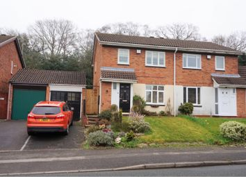 Thumbnail 3 bed semi-detached house for sale in Newman Way, Birmingham