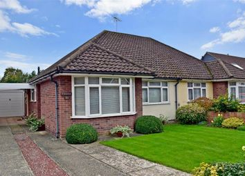 Thumbnail 2 bed semi-detached bungalow for sale in Langdale Avenue, Chichester, West Sussex