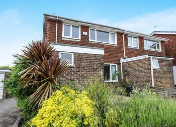 Thumbnail 3 bed semi-detached house for sale in Alfriston Close, Felpham, Bognor Regis
