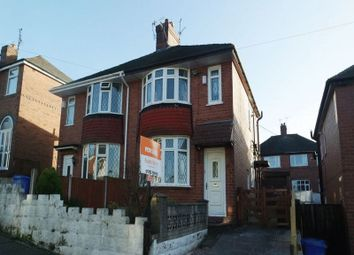 Thumbnail 2 bedroom semi-detached house for sale in Highfield Avenue, Meir, Stoke-On-Trent