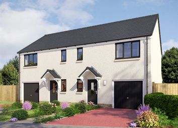 "Thumbnail 3 bedroom semi-detached house for sale in ""The Newton"" at Invergowrie, Dundee"