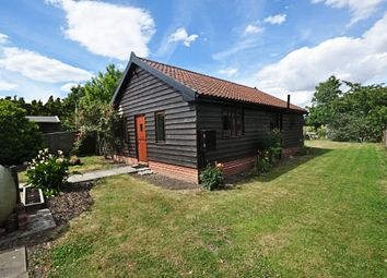 Thumbnail 2 bed detached bungalow for sale in Lower Street, Gissing, Diss
