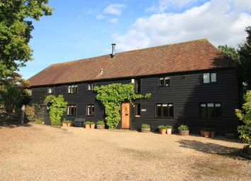 Thumbnail 4 bed barn conversion for sale in Lughorse Lane, Hunton, Kent