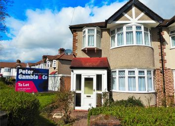 Thumbnail 3 bed end terrace house to rent in Greenway Gardens, Greenford, Greater London