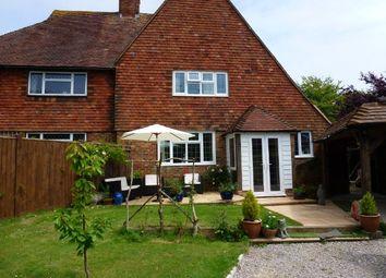 Thumbnail 3 bed semi-detached house for sale in Deneside, East Dean, Eastbourne