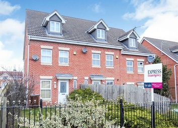 Thumbnail 3 bed end terrace house for sale in Farr Row, Nottingham