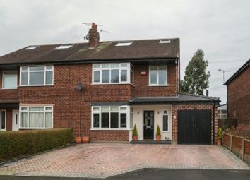 Thumbnail 4 bed semi-detached house for sale in Mosley Road, Timperley, Altrincham