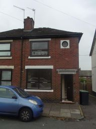 Thumbnail 1 bedroom terraced house for sale in Davis Street, Hanley, Stoke-On-Trent