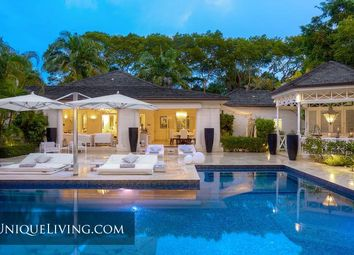Thumbnail 5 bed villa for sale in Sandy Lane, Barbados, Caribbean