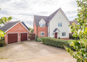 Thumbnail 4 bed detached house for sale in Brockley, Bury St. Edmunds, Suffolk