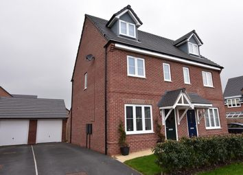 Thumbnail 3 bed town house for sale in Sheepfold Crescent, Barrow, Clitheroe