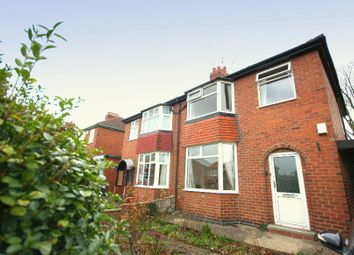 Thumbnail 3 bed semi-detached house to rent in Nunthorpe Grove, York