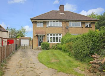 Thumbnail 3 bed semi-detached house for sale in The Close, Radlett