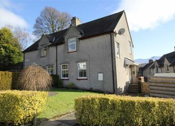 Thumbnail 3 bed semi-detached house for sale in Crosshead Road, Killearn, Glasgow