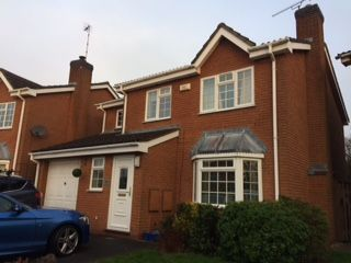 Thumbnail 4 bed detached house for sale in Gentian Way, Rugby