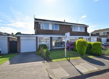 Thumbnail 3 bed semi-detached house for sale in Midhurst Close, Moorside, Sunderland