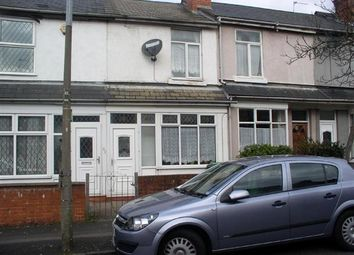 Thumbnail 3 bed terraced house to rent in Salisbury Road, West Bromwich